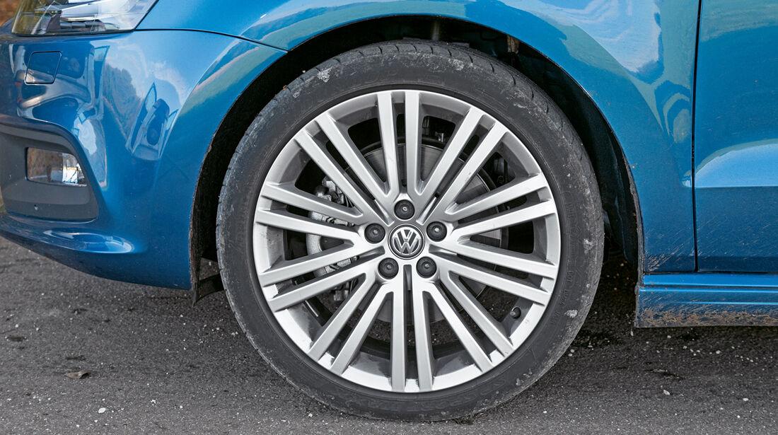 VW Polo Blue GT, Rad, Felge