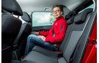 VW Polo, Fondsitz, Beinfreiheit
