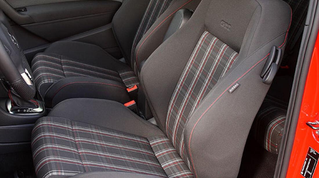 VW Polo GTI Fahrersitz