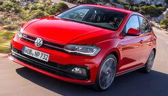 VW Polo VI GTI (2018) Fahrbericht AW 2G rot Fahraufnahme