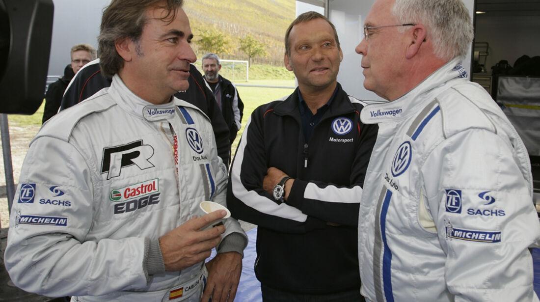 VW Polo WRC Sainz Hackenberg Test Veldenz 2011