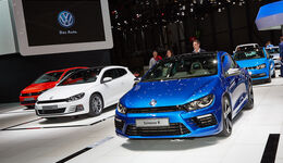 VW Scirocco R, Genfer Autosalon, Messe 2014