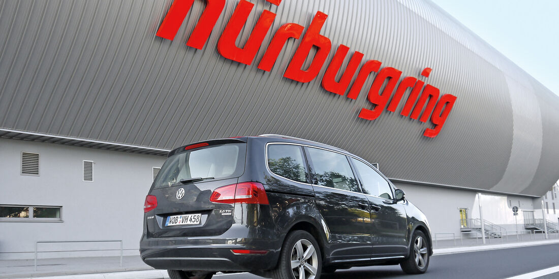 VW Sharan 2.0 TDI, Nürburgring