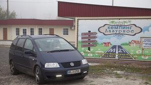VW Sharan, Kasachstan