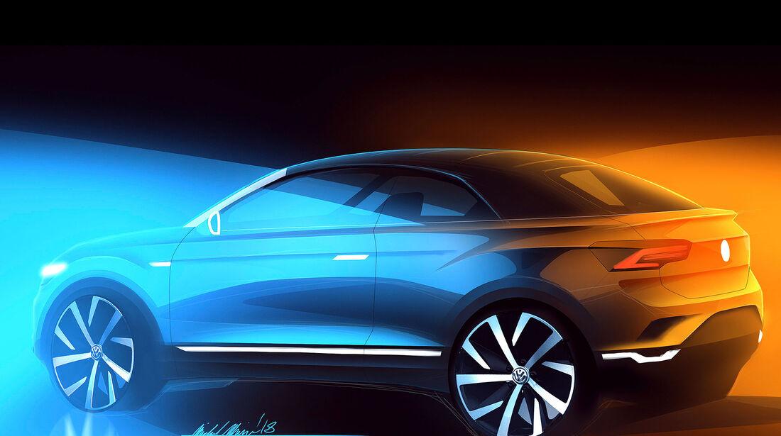 VW T-Roc Cabrio Teaser
