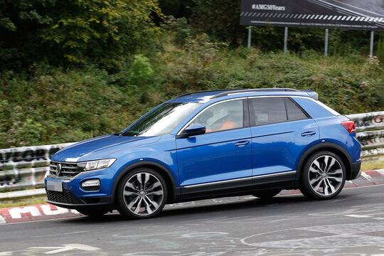 VW T-Roc R Erlkönig