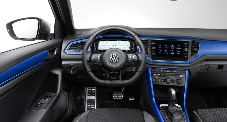 neuer vw t roc r 2019 motor ausstattung preis auto. Black Bedroom Furniture Sets. Home Design Ideas