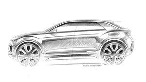 VW T-Roc Teaser