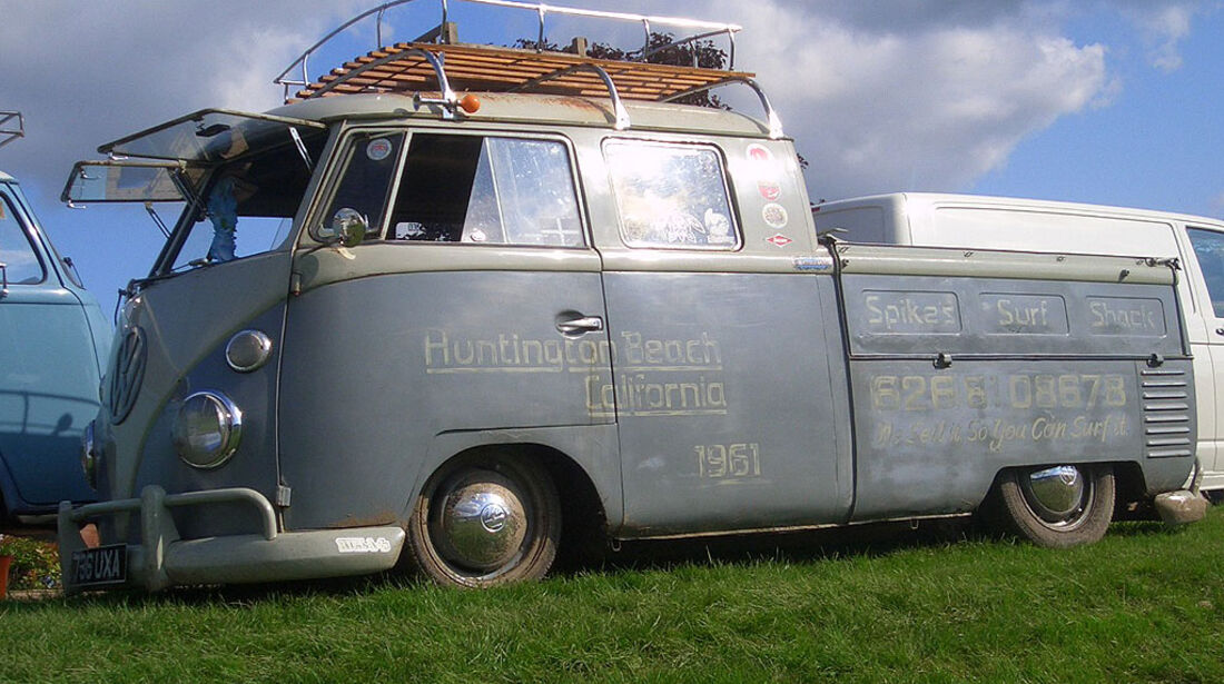 VW T1 Bus Doppelkabine Pritsche