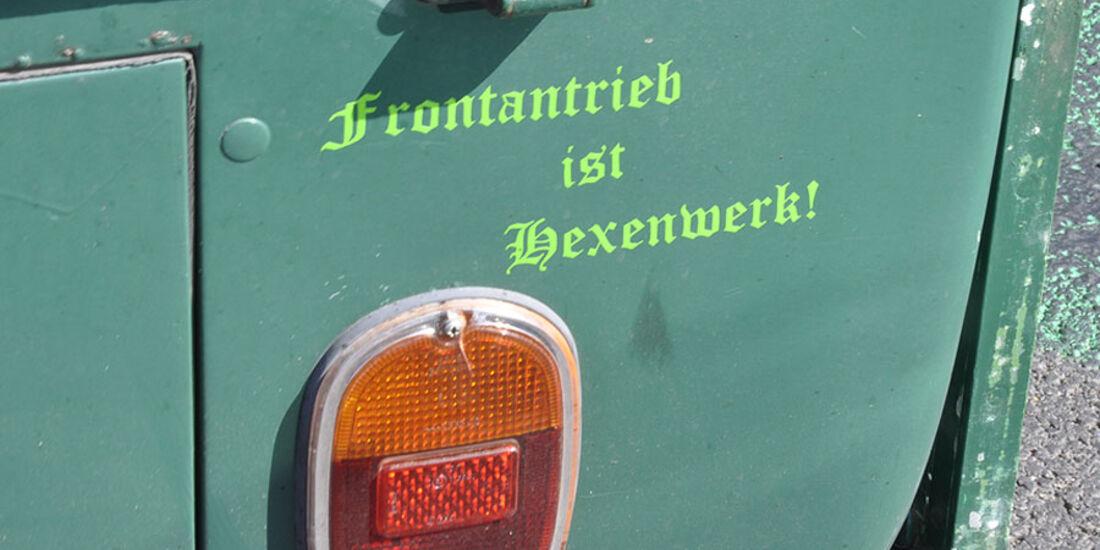 VW T2 Bus Pritsche Rücklicht