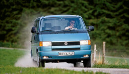 VW T4 2.5 TDI, Frontansicht
