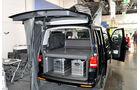 VW T5 Ausbauten, Spacecamper, Caravan Salon 2014