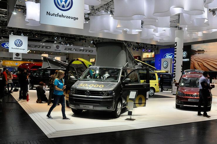 VW T5 Ausbauten, VW California, Caravan Salon 2014