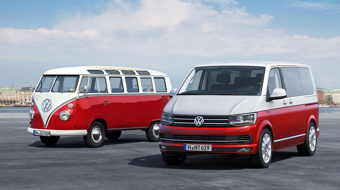 VW T6 Bus Sperrfrist 15.4. 21.00 Uhr