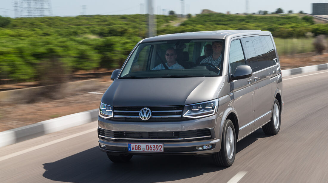 VW T6, VW Bus, 2015, Front