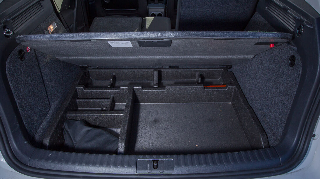 VW Tiguan 2.0 TDI, Stauraum