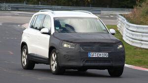 VW Tiguan Erlkönig
