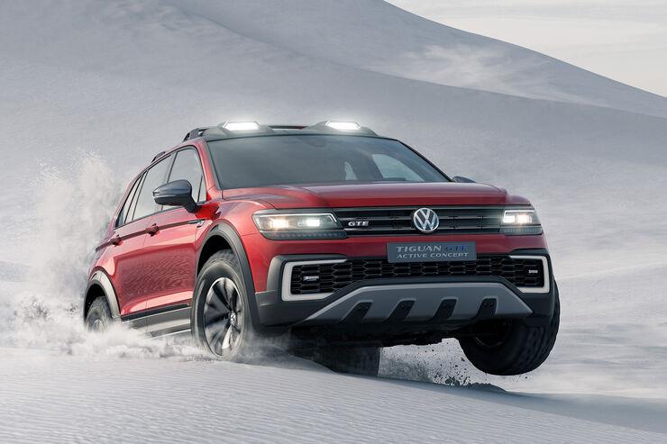 VW Tiguan GTE Active Concept Sperrfrist 10.1.