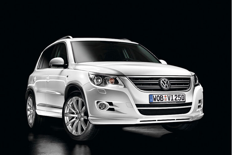 vw tiguan mit r line ausstattungspaket sportliche ausstattungsvarianten f r den vw tiguan. Black Bedroom Furniture Sets. Home Design Ideas