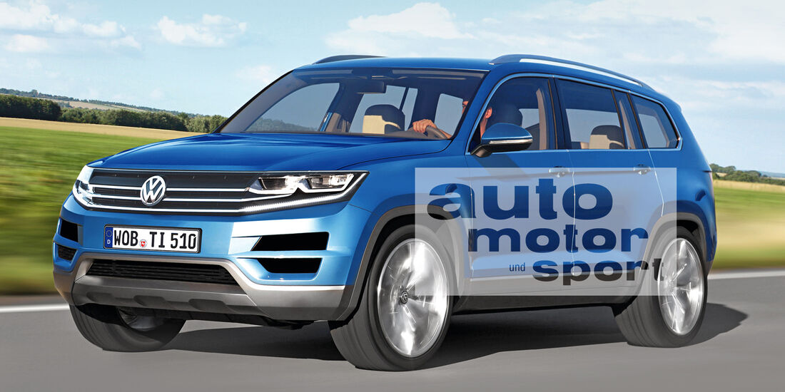 VW Tiguan XL, Seitenansicht