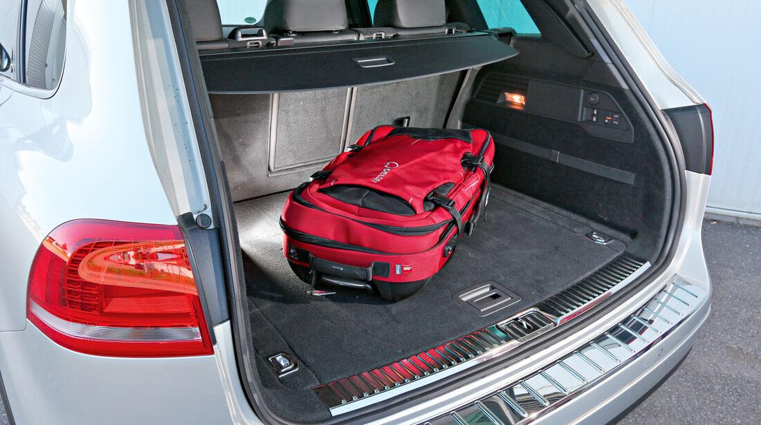 VW Touareg 3.0 TDI, Kofferraum