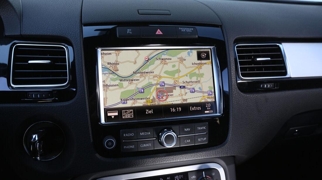 VW Touareg 3.0 TDI, Navi