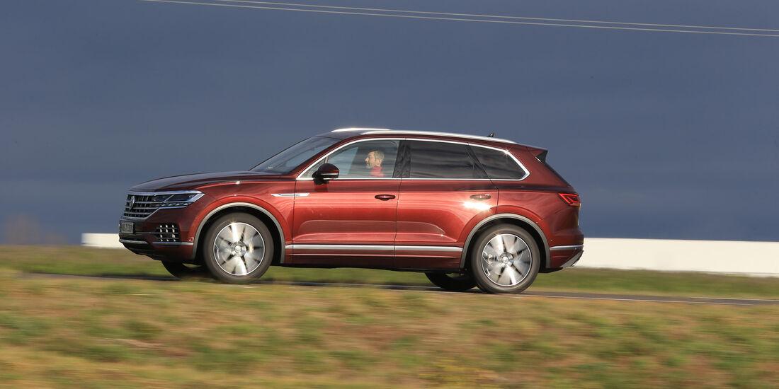 VW Touareg, Exterieur