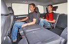VW Touran, Einzelsitze, Rücksitze