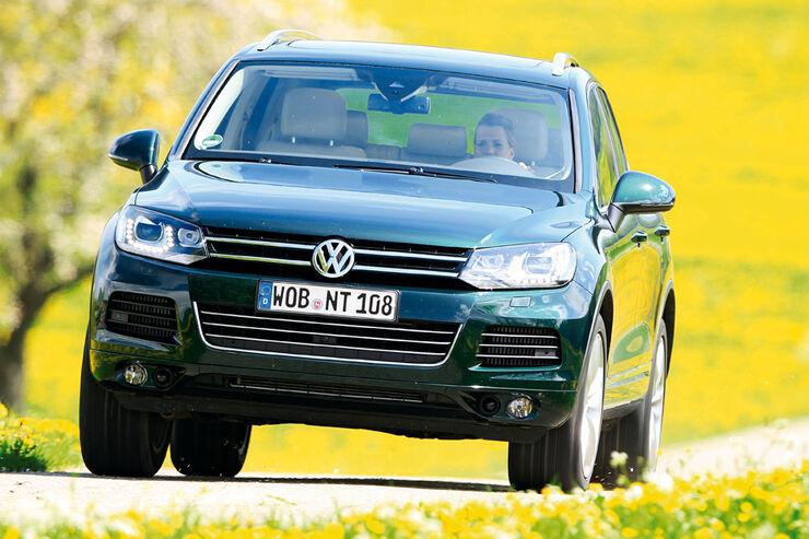 Vw Touareg Ii Typ C2 Technische Daten Auto Motor Und Sport