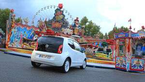 VW Up 1.0 White, Heck