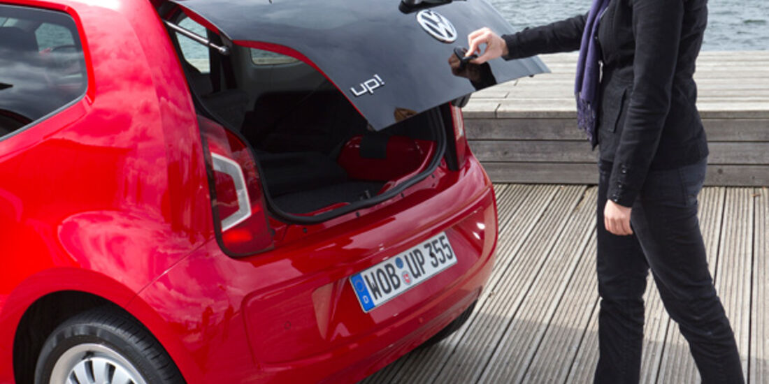 VW Up, Heckklappe