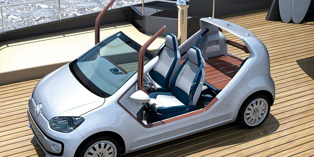 VW Up azzura sailing team