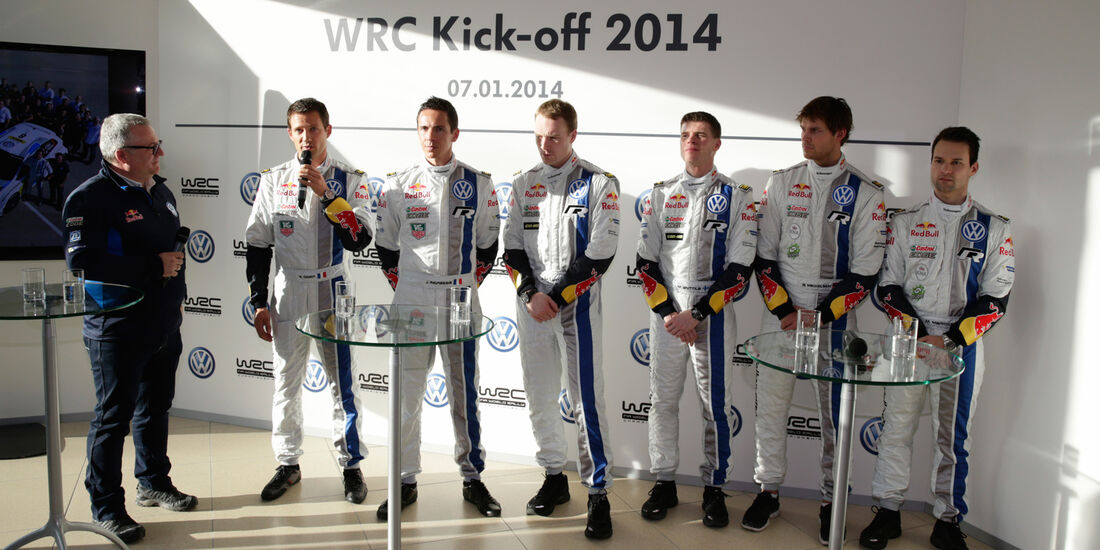 VW WRC Kickoff 2014
