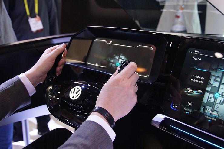 Mazda Portal Login >> Lenkrad der Zukunft auf der CES 2017 - auto motor und sport