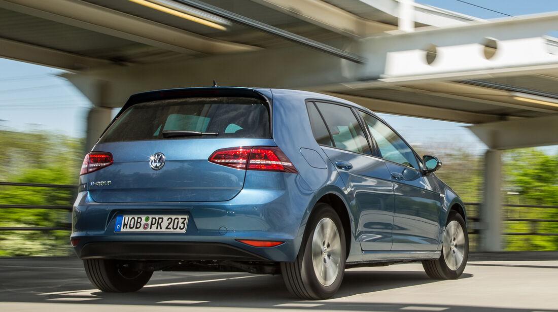 VW e-Golf, Heckansicht