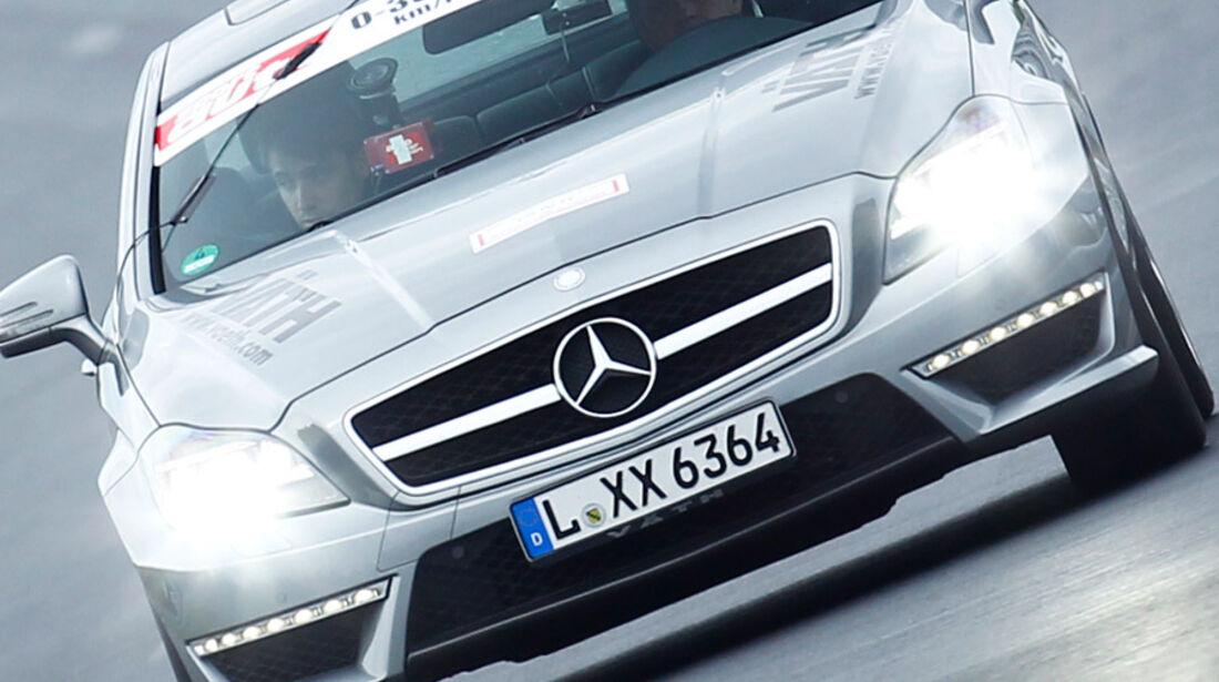 Väth Merceds V63 RS 0-300-0 Beschleunigungs- & Bremsduell