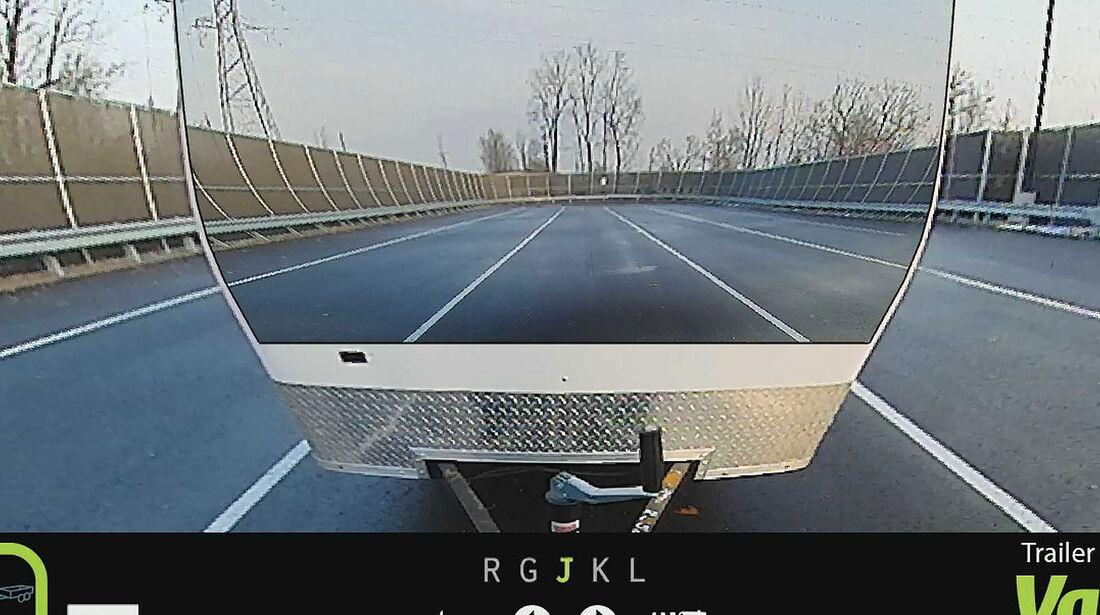 Valeo XtraVue Trailer Anhänger durchsichtig