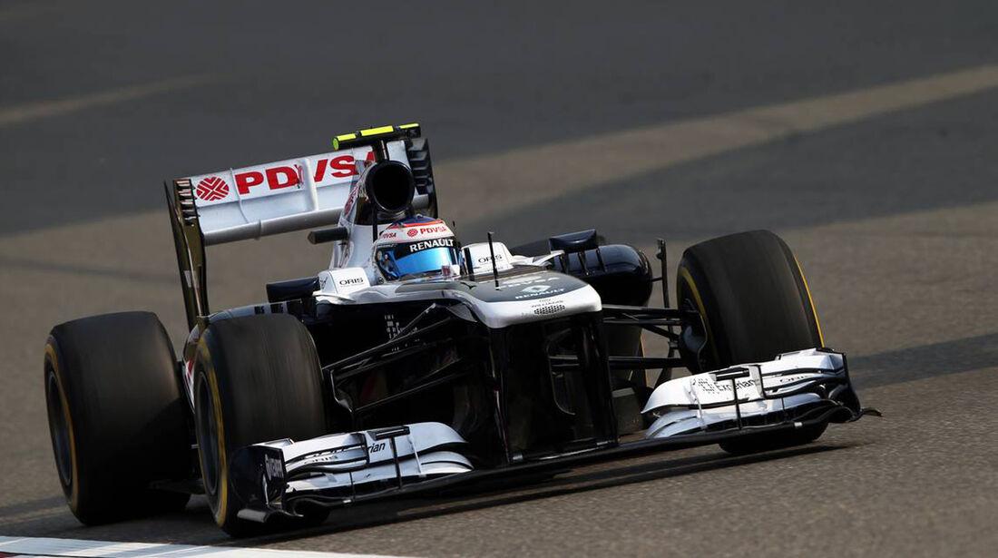 Valtteri Bottas - Formel 1 - GP China -12. April 2013