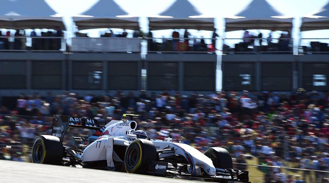 Valtteri Bottas - Formel 1 - GP USA - 1. November 2014