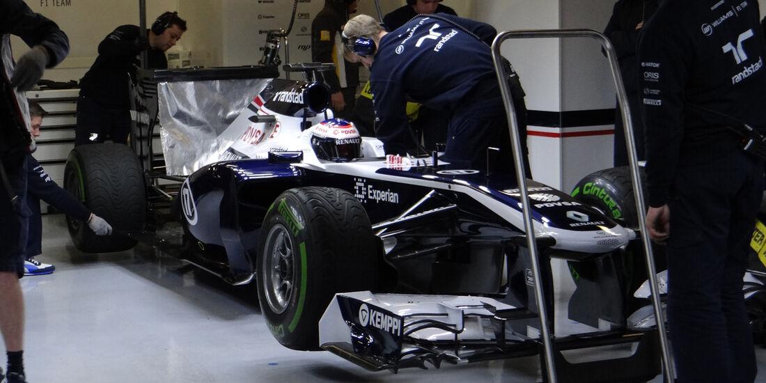 Valtteri Bottas - Formel 1 - Test - Barcelona - 22.Februar 2013