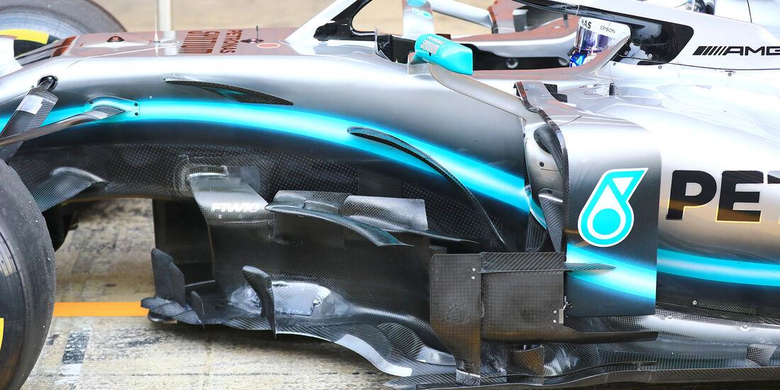 Valtteri Bottas - Mercedes - Barcelona - F1-Test - 01. März 2019