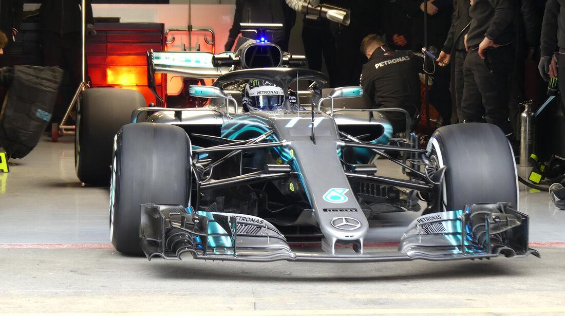 Valtteri Bottas - Mercedes - Barcelona F1-Test 2018 - Tag 1