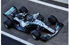Valtteri Bottas - Mercedes - F1-Testfahrten - Abu Dhabi - 27.11.2018