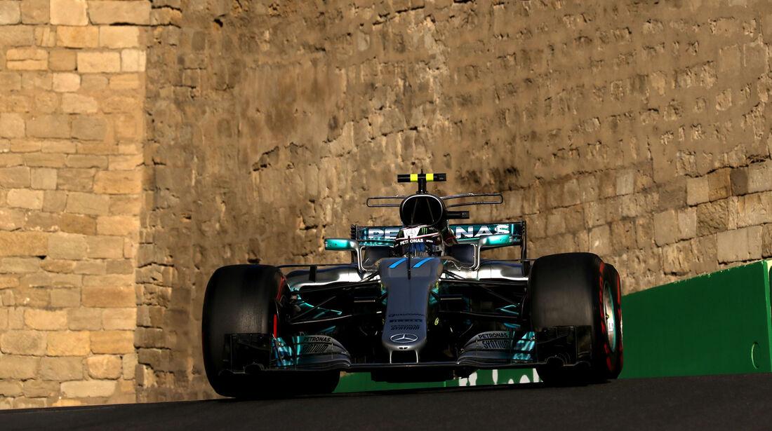 Valtteri Bottas - Mercedes - Formel 1 - GP Aserbaidschan 2017 - Training - Freitag - 23.6.2017