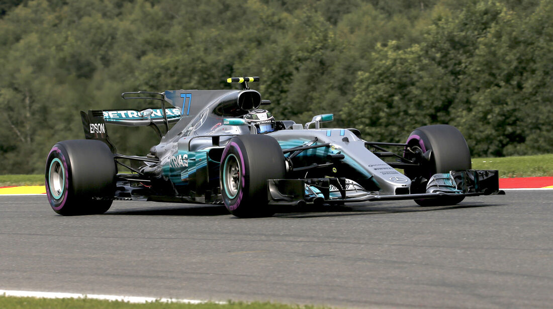 Valtteri Bottas - Mercedes - Formel 1 - GP Belgien - Spa-Francorchamps - 26. August 2017