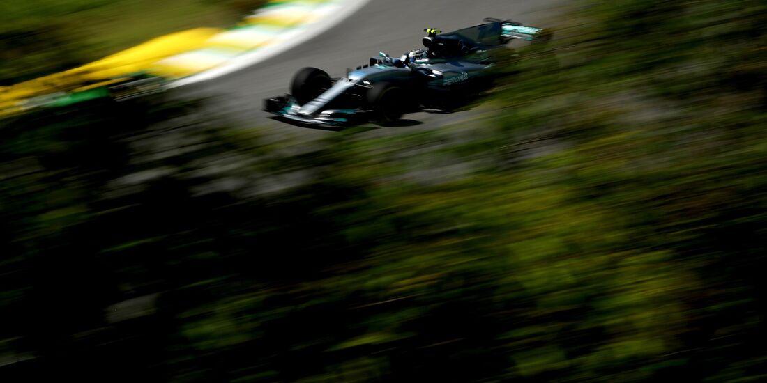 Valtteri Bottas - Mercedes - Formel 1 - GP Brasilien - 10. November 2017