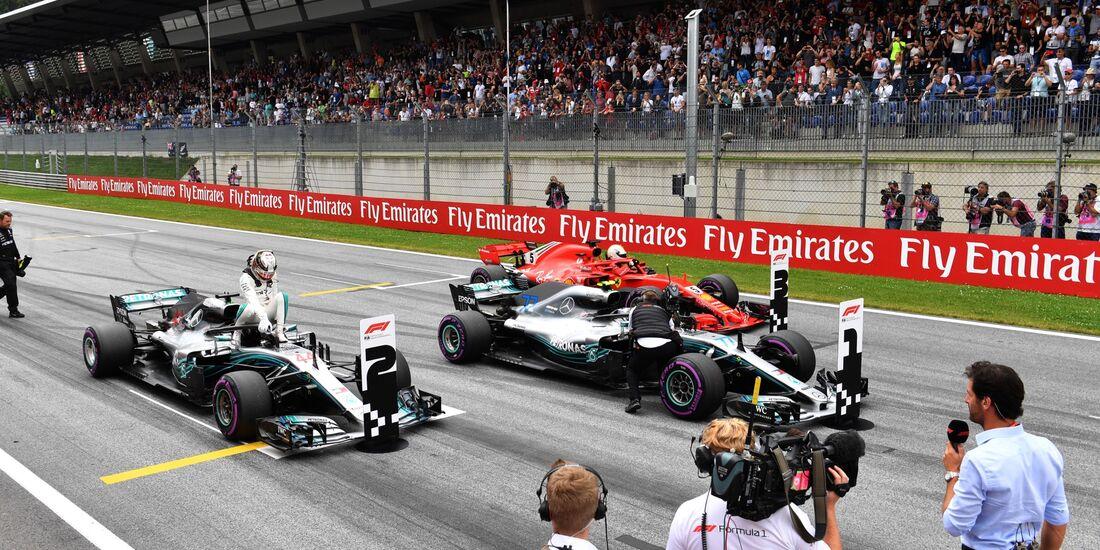 Valtteri Bottas - Mercedes - Formel 1 - GP Österreich - 30. Juni 2018