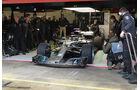 Valtteri Bottas - Mercedes - Formel 1 Test - Barcelona - Tag 4 - 1. März 2018