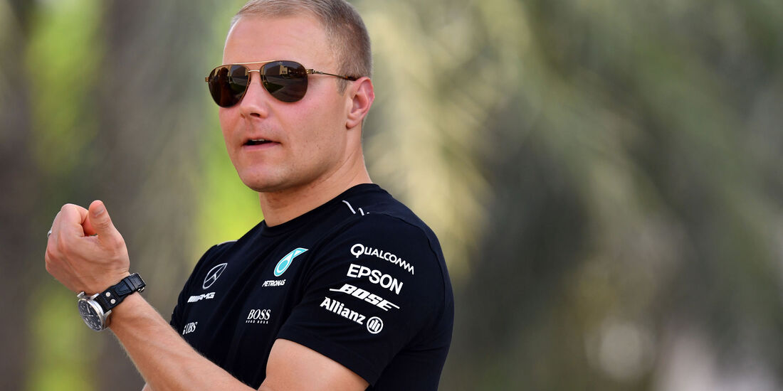 Valtteri Bottas - Mercedes - GP Bahrain - Sakhir - Donnerstag - 13.4.2017