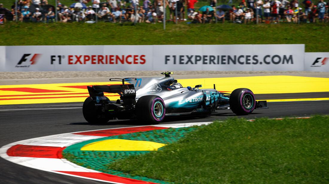 Valtteri Bottas - Mercedes - GP Österreich - Spielberg - Formel 1 - Freitag - 7.7.2017